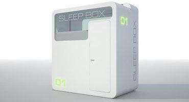 Dormo in una scatola. Ed è comodo!