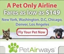 Nasce la Pet Airways: il vostro cucciolo viaggia da re!