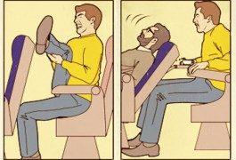 In volo: le 10 più irritanti abitudini dei passeggeri