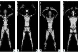 Body scanner: strip di protesta