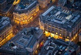 Londra immortalata dall'alto da Jason Hawkes