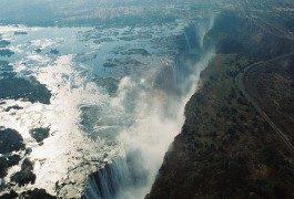 Terra incognita: le cascate Victoria