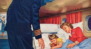 Compagnie aeree: pubblicità vintage dal passato
