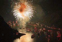 Il Reno in fiamme: il più grande spettacolo pirotecnico d'Europa