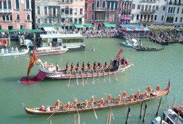 Giugno a Venezia per la regata