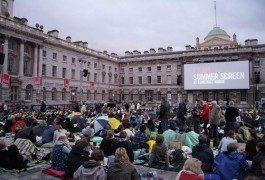 Cinema al tramonto nel cuore di Londra
