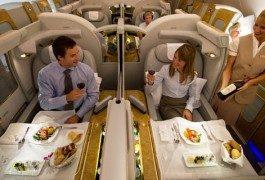 Top 5: compagnie aeree e 1ª classe