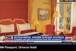 Un hotel per divorziare in 48 ore