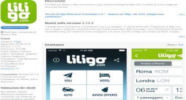 liligo per iPhone: ora anche hotel e auto!