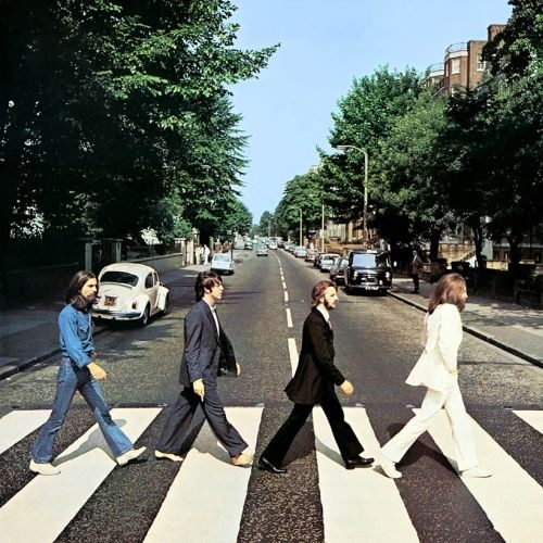 Copertina dell'album Abbey Road