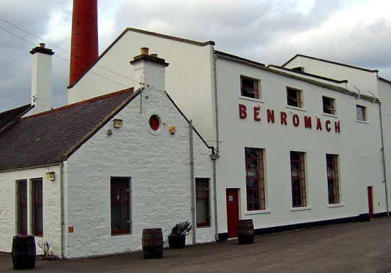 La distilleria Benromach