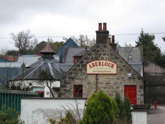Una distilleria a Aberlour