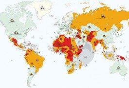 Le regioni del mondo da evitare nel 2013