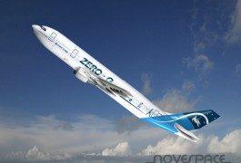 La gravità zero su un aereo di linea