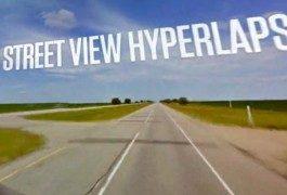 Concediti un viaggio su strada, offre Google StreetView