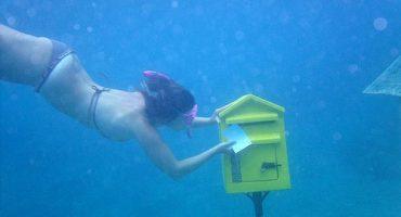 Dall'altra parte del mondo c'è un ufficio postale subacqueo