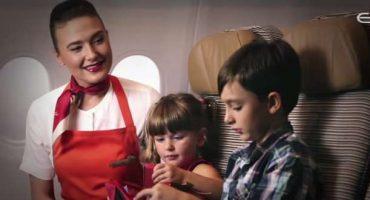 Mary Poppins al tuo servizio sui voli Etihad