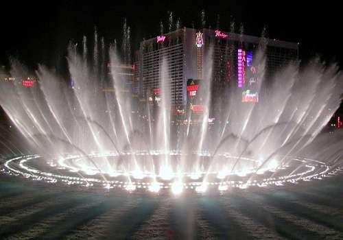 Le fontane del Bellagio Hotel