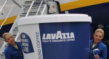 Caffè Lavazza sui voli Ryanair