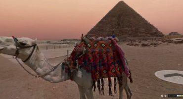 Google Street View tra le piramidi egizie