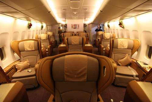 Singapore Airlines (First Class)