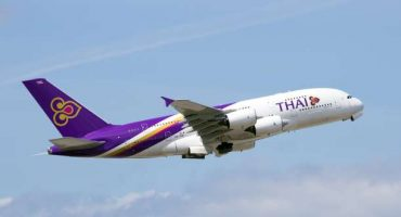 Thai Airways aumenta la franchigia per i bagagli gratuiti