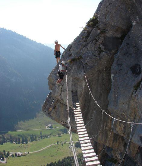 Via ferrata sulle Alpi francesi