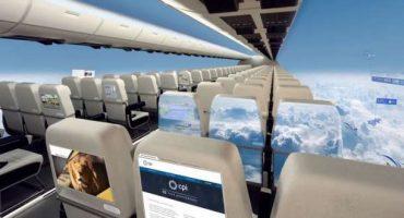 L'aereo del futuro sarà trasparente