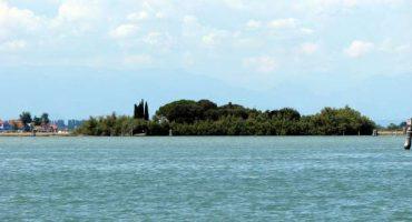 Isola in vendita nella laguna veneziana