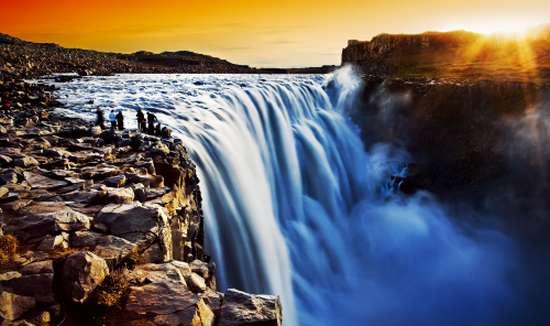 Le cascate di Hjalteyri