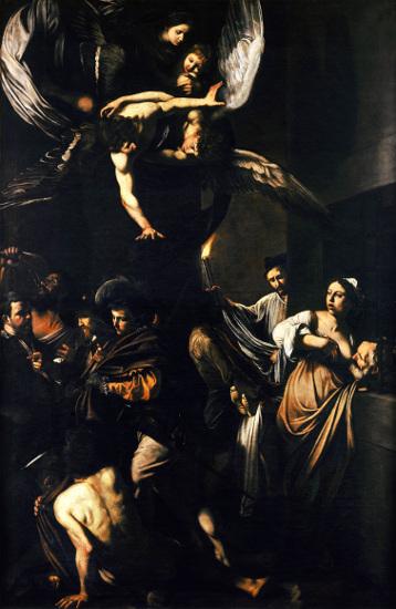 Le Sette Opere di Misericordia del Caravaggio