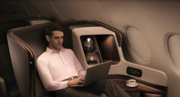 Una fattura da 1.200 $ per l'uso di internet in aereo