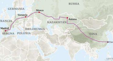Dalla Cina alla Spagna, la ferrovia più lunga del mondo