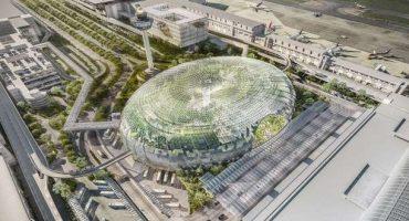 Singapore, l'aeroporto ospiterà una serra equatoriale