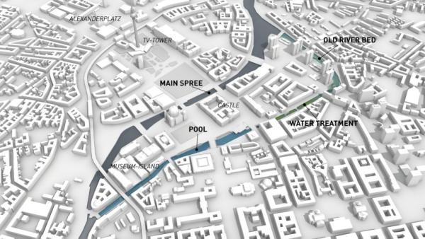 Il progetto di Flussbad Berlin