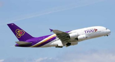 Thai Airways, tariffe scontate per volare in Asia in business class