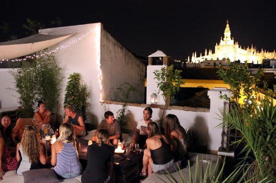 La Banda Rooftop Hostel (Siviglia, Spagna)