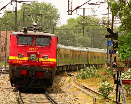 Treni in India (2)