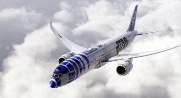 ANA presenta l'aereo targato Star Wars