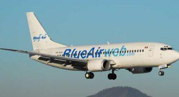 Blue Air, nuovi voli da Torino verso la Romania