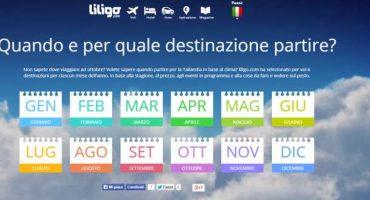 Scoprite dove partire con le destinazioni mensili di liligo.com