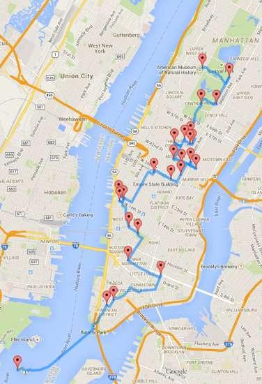 Itinerario - New York