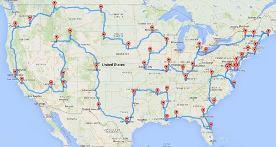 Road Trip - Nord America