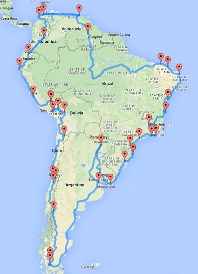 Road Trip - Sud America
