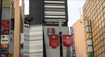 Godzilla, ambasciatore del turismo giapponese