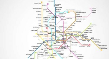 Le Metro Bar Map di Madrid, Parigi e Berlino