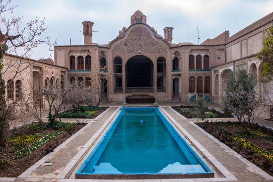 Borujerdi, una delle case storiche di Kashan
