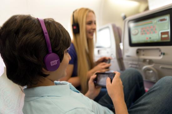 Intrattenimento a bordo di Emirates