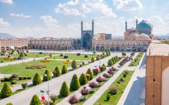 Piazza Metà del Mondo di Ispahan