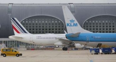 Fiumicino: Air France / KLM riduce i voli su Roma